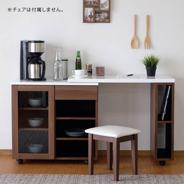 ポイント最大31倍!キッチン収納 キッチンカウンター アイランドキッチン モード 幅90 (IS)|denzo|02