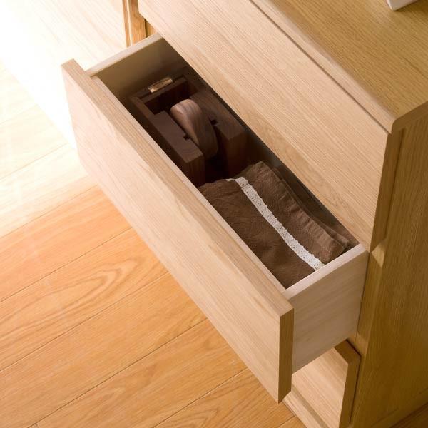 5のつく日!キッチンカウンター 木製 引出し 木製天板 送料無料 コレント チェスト 幅45 奥行30 高さ70 (IS)|denzo|03