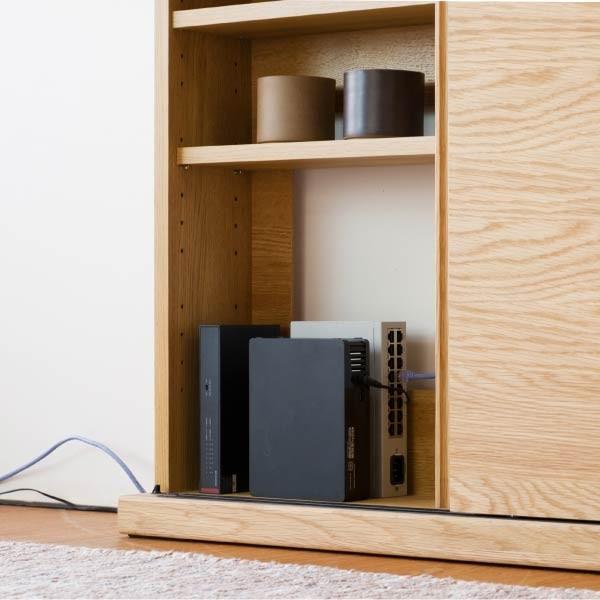 キッチンカウンター 木製 引き戸 木製天板 送料無料 コレント カウンター 幅150 奥行30 高さ85 (IS)|denzo|03