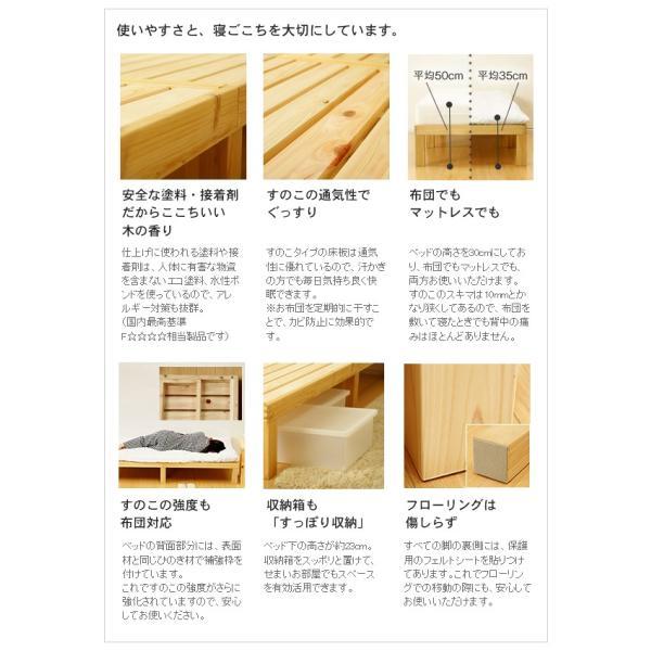(HC)Homecoming ひのきのすのこベッド?シングルサイズ 日本の職人技が光る無垢材の国産すのこベッド 通気性に優れているから湿度の高い日本に最適! denzo 02
