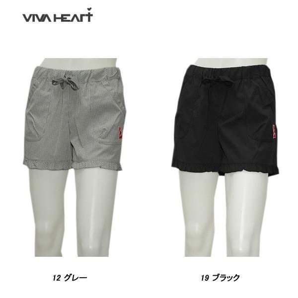 ビバハート VIVA HEART レディース 春夏 耐久撥水 ショートパンツ|depot-044