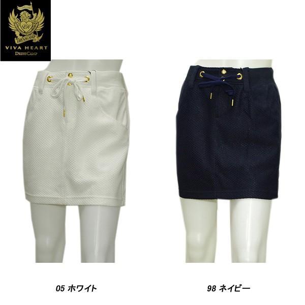 ビバハート VIVA HEART×DRESSCAMP レディース 春夏 ニット×パイル スカート|depot-044