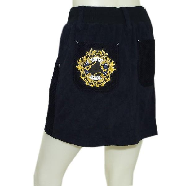 ビバハート VIVA HEART×DRESSCAMP レディース 春夏 ニット×パイル スカート|depot-044|05