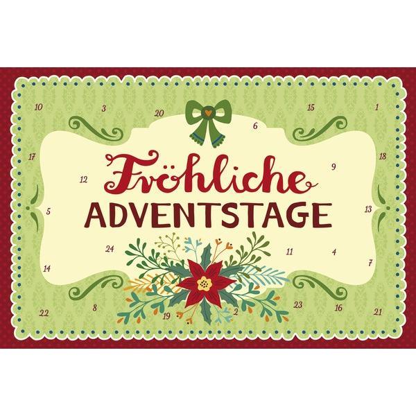 【KORSCH】コルシュ クリスマスカード アドベントポストカード  楽しいクリスマスを ドイツ製 11.5cm×17cm 【012451】