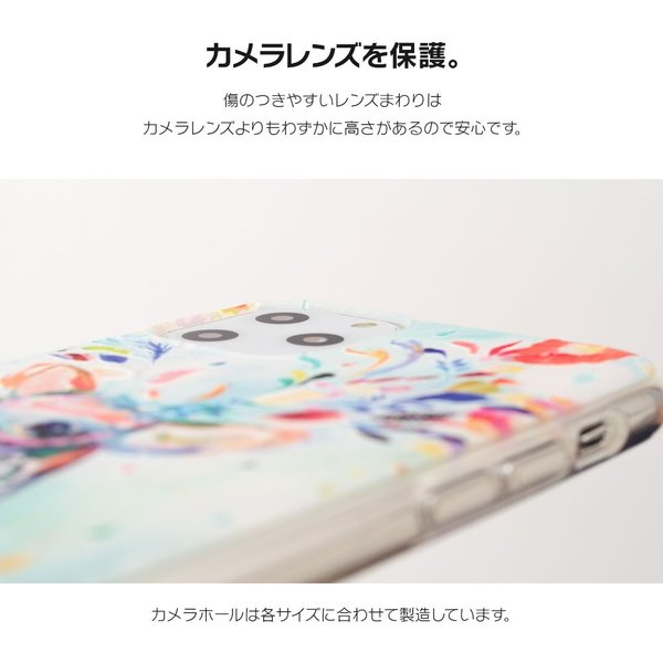 iPhone XR ケース iPhone8 スマホケース ソフトケース XS MAX X iPhone7 iPhoneケース Plus カバー シリコン 花 柄 マーガレット かわいい dm「 ボタニカル 」|designmobile|11