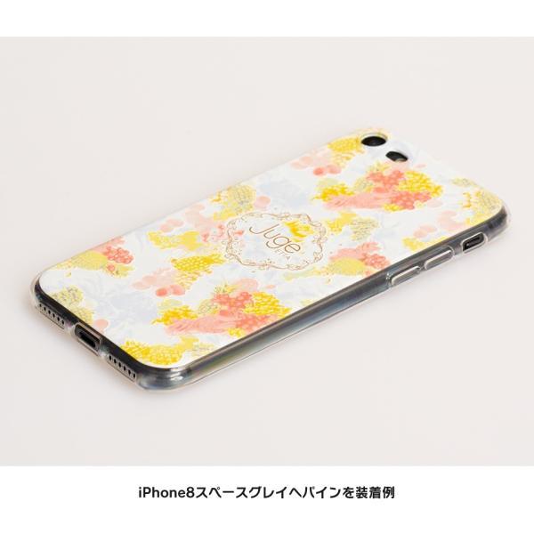 iPhone XR ケース iPhone8 スマホケース ソフトケース XS MAX X iPhone7 iPhoneケース Plus カバー シリコン 花 柄 マーガレット かわいい dm「 ボタニカル 」|designmobile|05