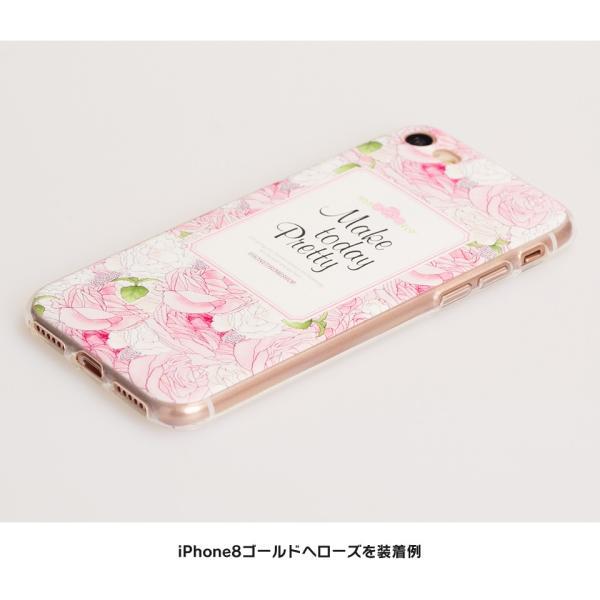 iPhone XR ケース iPhone8 スマホケース ソフトケース XS MAX X iPhone7 iPhoneケース Plus カバー シリコン 花 柄 マーガレット かわいい dm「 ボタニカル 」|designmobile|06