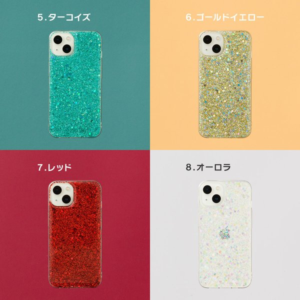 iPhone XR ケース iPhone8 スマホケース ソフトケース XS MAX X iPhone7 iPhoneケース Plus カバー キラキラ ラメ グリッター dm「 グリッター 」|designmobile|05