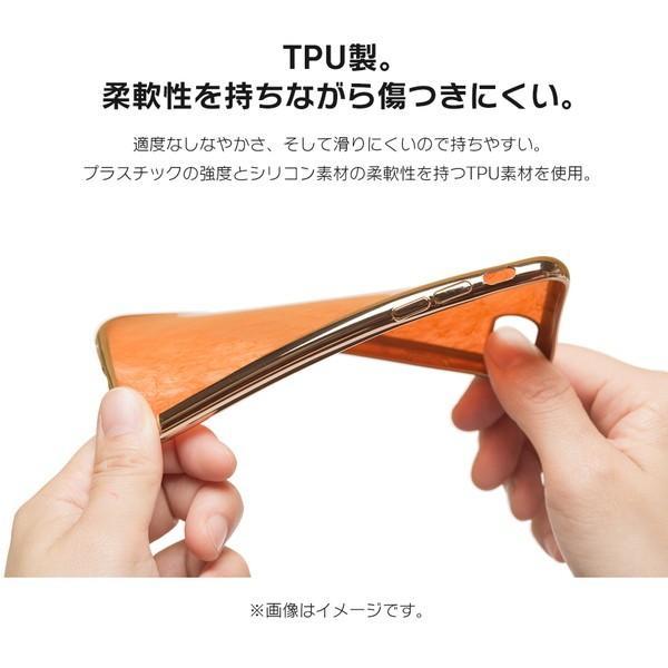 iPhone XR ケース iPhone8 スマホケース ソフトケース XS MAX X iPhone7 iPhoneケース カバー シリコン かわいい ティンカーベル ラメ dm「 ティンク 」|designmobile|05
