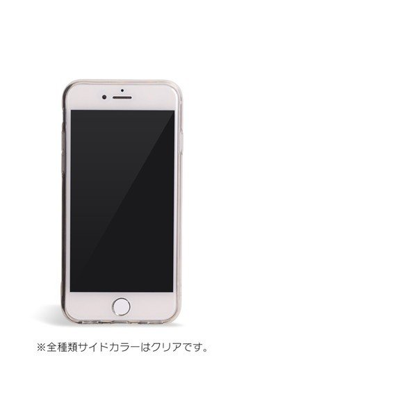 iPhone XR ケース iPhone8 スマホケース ソフトケース XS MAX X iPhone7 iPhoneケース カバー かわいい ハート ギンガム 水玉 dm「 スクラップハート 」|designmobile|11
