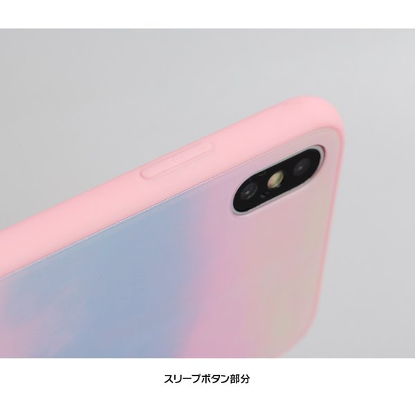 c6d2390635 ... iPhone XS ケース iPhone8 スマホケース ハードケース X iPhone7 iPhoneケース カバー シリコン 可愛い  オーロラ ピンク ...