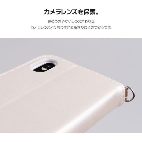 iPhone8 ケース SE2 XR ケース スマホケース 手帳型 XS MAX iPhone7 Plus iPhoneケース 手帳 可愛い ニコちゃん スマイル マーク dm「スマイルダイアリー」 designmobile 15