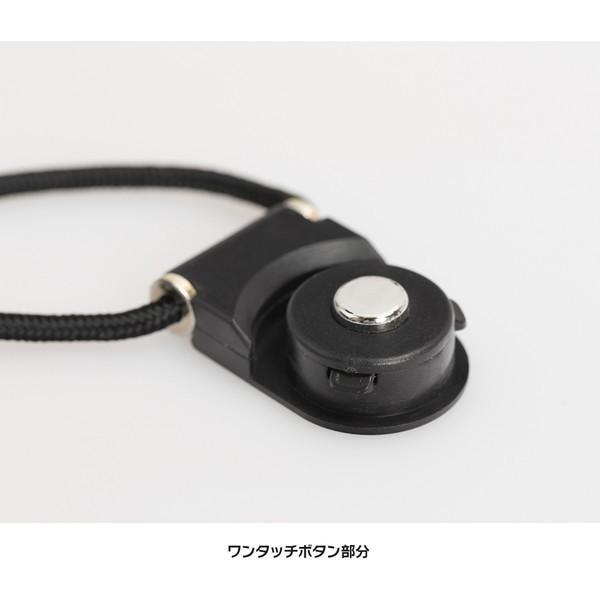 ネックストラップ 多機種種対応 スマートフォン カードホルダー スマホ 携帯 ストラップ 落下防止 ワンタッチ 着脱 便利 首掛け 「2WAYネックストラップ」|designmobile|04