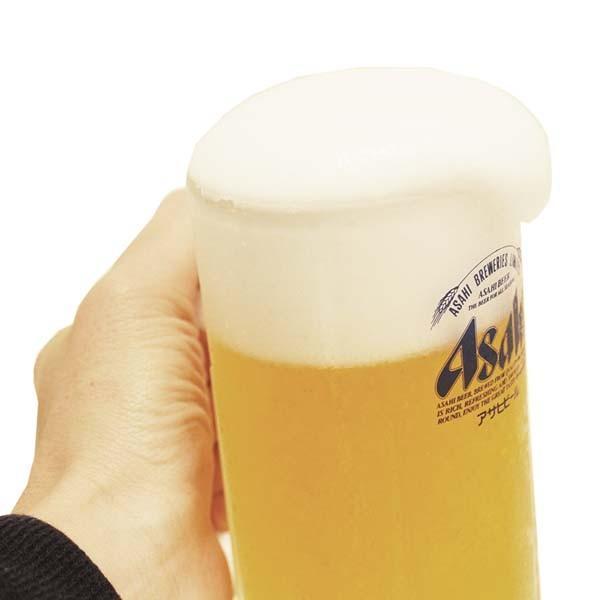 食品サンプル 展示用 アサヒ 生ビール ジョッキ 業務用 オブジェ designpocket 03