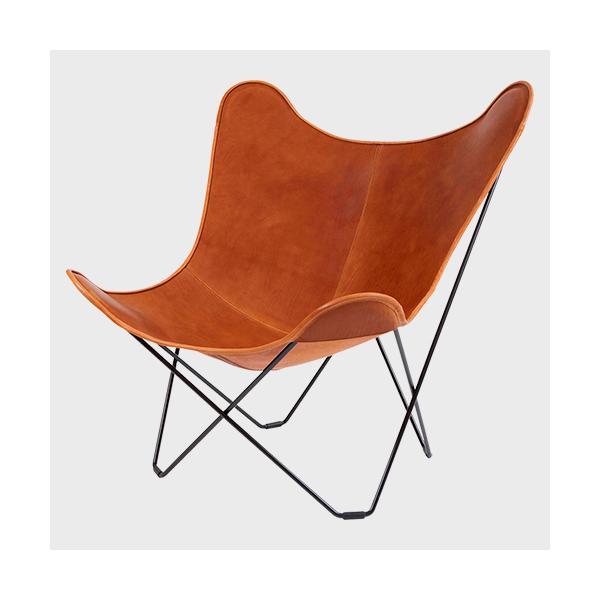 キャッシュレス還元 BKF Chair BKFチェア ブラウンレザー スウェーデン 北欧|designshop-jp|03