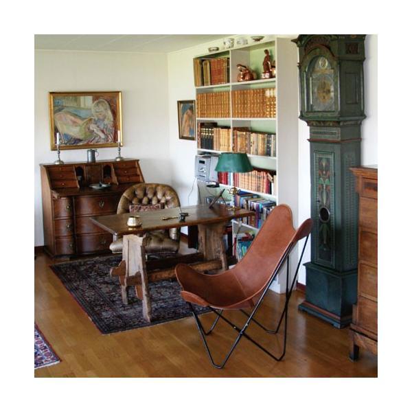 キャッシュレス還元 BKF Chair BKFチェア ブラウンレザー スウェーデン 北欧|designshop-jp|06