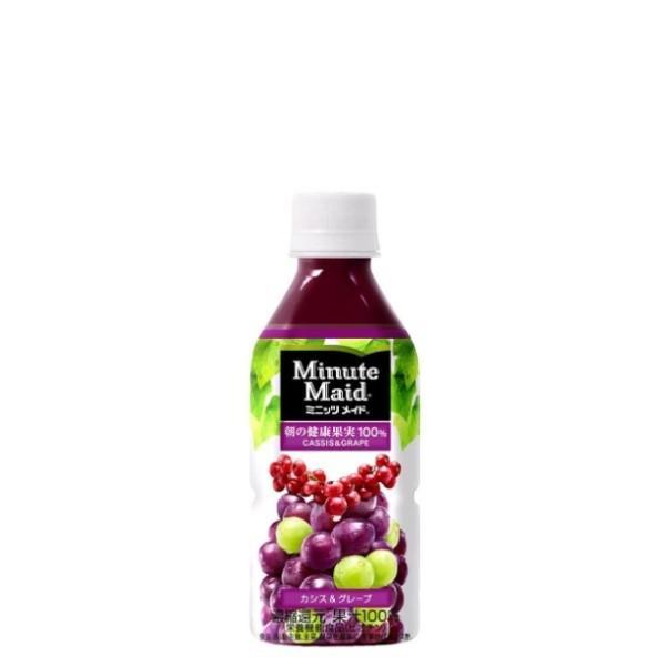 ミニッツメイドカシス&グレープ 350ml PET 入数 24本 1 ケース | 果汁 ミニッツメイド グレープ コカ・コーラ コカコーラ cocacola こかこーら