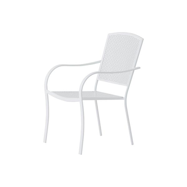 PATIO PETITE カプリ チェア CAPRI CHAIR   いす スツール スタッキングチェア おしゃれ かわいい ホワイト 白 積み重ね ガーデンチェア ウッドデッキ