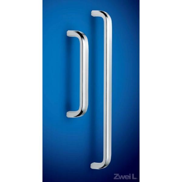スガツネ工業 ステンレス鋼製 ドアハンドル ZL-1501型 本体 片面取付丸座無し(室外側) 100-177-010 ZL-1501-OS-320 | ドアノブ ハンドル ノブ ステンレス 鋼