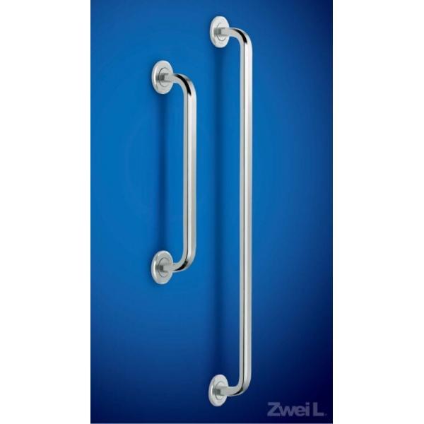 スガツネ工業 ステンレス鋼製 ドアハンドル ZL-1502型 片面取付丸座付セット(室外側) 100-177-034 ZL-1502-OS-192 | ドアノブ ハンドル ノブ ステンレス 鋼