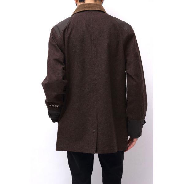 02DERIV. ツーディライヴ ジャケット NO.607024 GORE-TEX FIREMAN JKT ファイアーマンジャケット ハンティングジャケット|desir-store|03