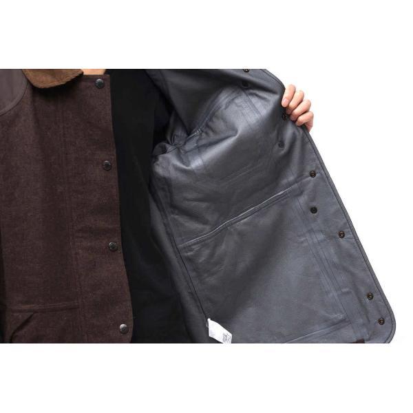 02DERIV. ツーディライヴ ジャケット NO.607024 GORE-TEX FIREMAN JKT ファイアーマンジャケット ハンティングジャケット|desir-store|05