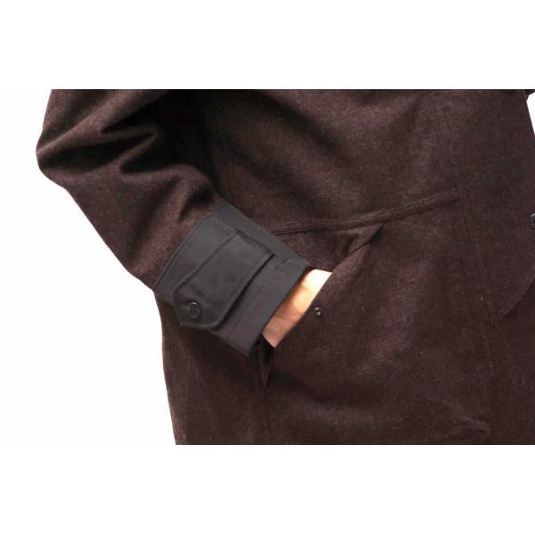 02DERIV. ツーディライヴ ジャケット NO.607024 GORE-TEX FIREMAN JKT ファイアーマンジャケット ハンティングジャケット|desir-store|06