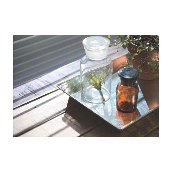 メディシンボトル アンバー ガラス 直径4.5 2.5 H9cm|desirdevivre-zacca|02