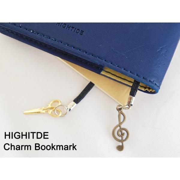 ハイタイド チャームブックマーク しおり ブックマーカー プレート HIGHTIDE GB117 かわいい