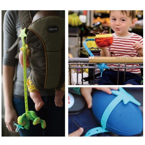 おもちゃホルダー ストラップ リルサイドキック 食洗機 BPAフリー ベビーカー チェア 出産祝 ベビーギフト 送料無料 【lil sidekick公式販売店】|detour|06