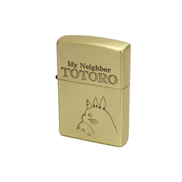 Zippo  ジッポ となりのトトロ 横顔3 NZ-04 真鍮古美仕上げ 横顔バージョン|deva-online|02