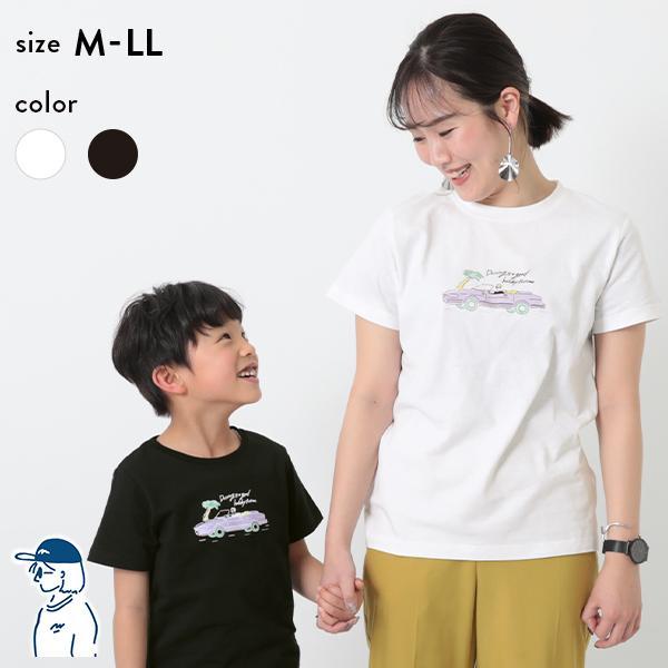 子供服namiiiiコラボTシャツ大人サイズキッズレディースメンズ半袖TシャツTシャツトップス半袖devirockデビロック