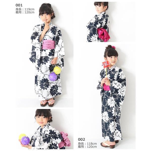 子供服 浴衣 キッズ 韓国子供服 devirock 浴衣 兵児帯 2点セット 女の子 浴衣 甚平 全10色 100-160  M1-1|devirockstore|12