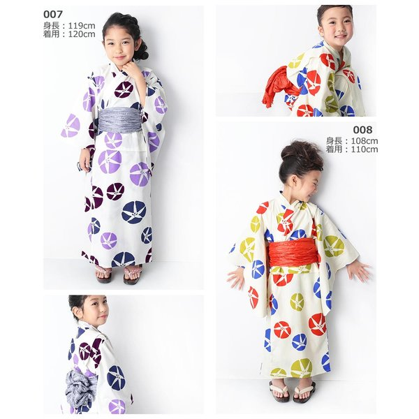 子供服 浴衣 キッズ 韓国子供服 devirock 浴衣 兵児帯 2点セット 女の子 浴衣 甚平 全10色 100-160  M1-1|devirockstore|15