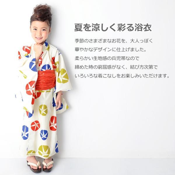子供服 浴衣 キッズ 韓国子供服 devirock 浴衣 兵児帯 2点セット 女の子 浴衣 甚平 全10色 100-160  M1-1|devirockstore|05