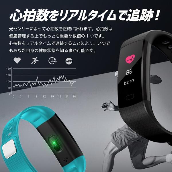 スマートウォッチ iPhone アンドロイド 日本語 アプリ 対応 LINE通知 Twitter facebook SNS通知 防水 カラー液晶 多機能 日本語取扱説明書|dezicazi|06