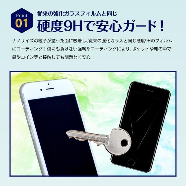 ガラスフィルム 液体ガラスフィルム 液体保護フィルム 9H ナノテクノロジー 液晶保護フィルム ガラスコーティング スマートフォン スマホ iPhone apple watch|dezicazi|04