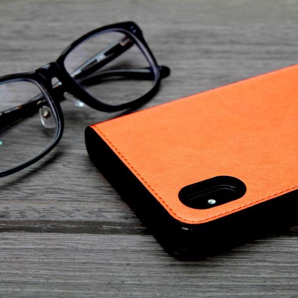 らくらくスマートフォン4 F-04J ケース 手帳型 スマホケース シンプル 使いやすい カバー 富士通 らくスマ 4 らくらくスマホ4 手帳ケース ベルトなし マグネット|dezicazi|11