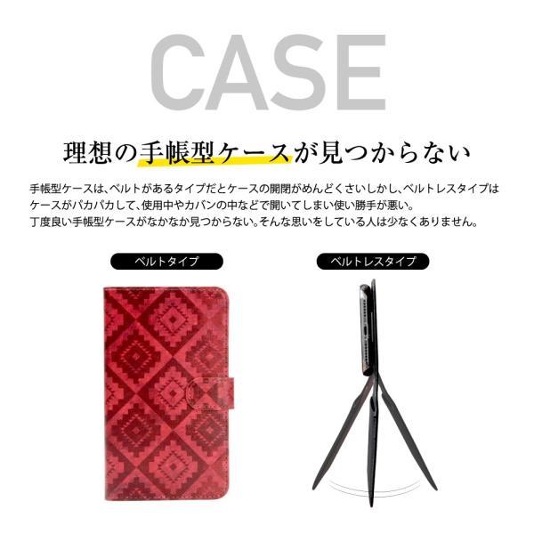 らくらくスマートフォン4 F-04J ケース 手帳型 スマホケース シンプル 使いやすい カバー 富士通 らくスマ 4 らくらくスマホ4 手帳ケース ベルトなし マグネット|dezicazi|04