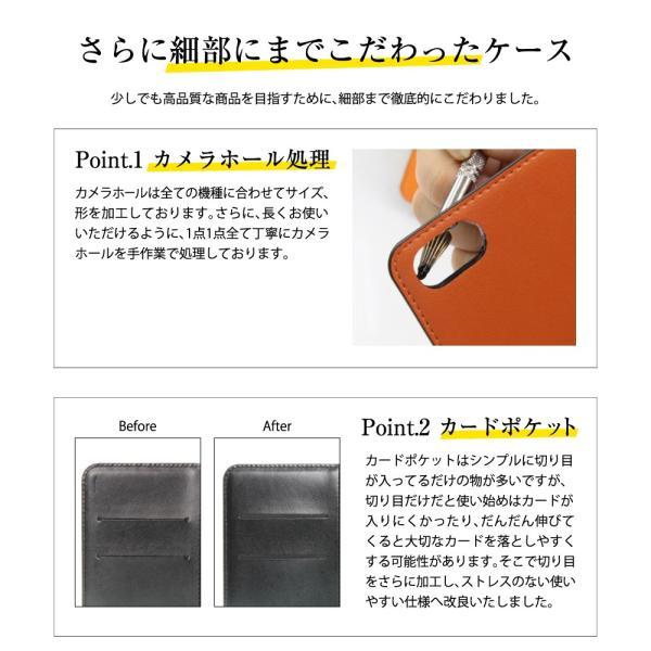 らくらくスマートフォン4 F-04J ケース 手帳型 スマホケース シンプル 使いやすい カバー 富士通 らくスマ 4 らくらくスマホ4 手帳ケース ベルトなし マグネット|dezicazi|07