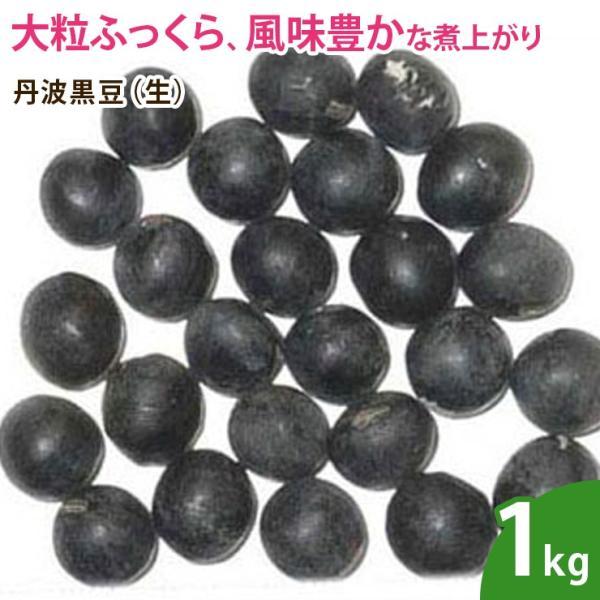 丹波黒豆(生) 1kg  ナッツ 無添加 ノンオイル