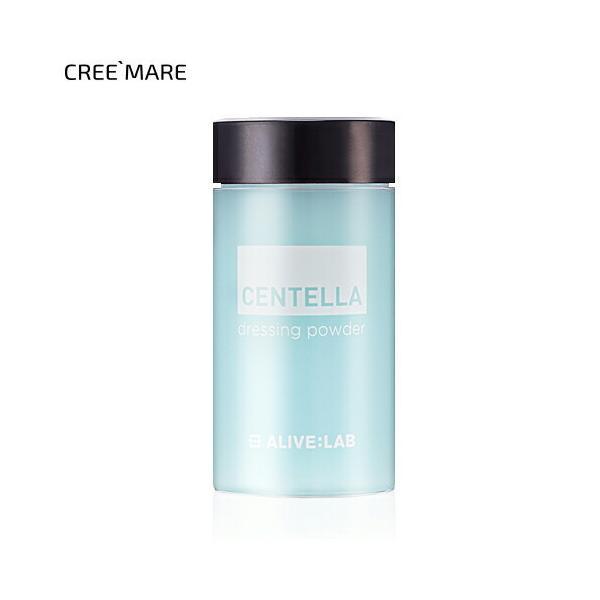韓国コスメ アライブラボ ALIVELAB ドレッシングパウダー ツボクサ トラブル肌 混ぜる 化粧品 スキンケア