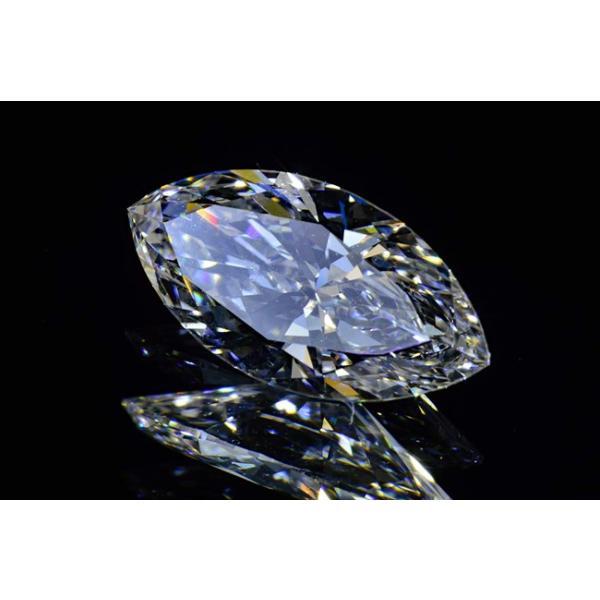 マーキースカットダイヤモンド0.4カラットEカラーフローレス最高品質 透き通った空の虹さん ダイヤ鑑定書GIA刻印つき diadia 02