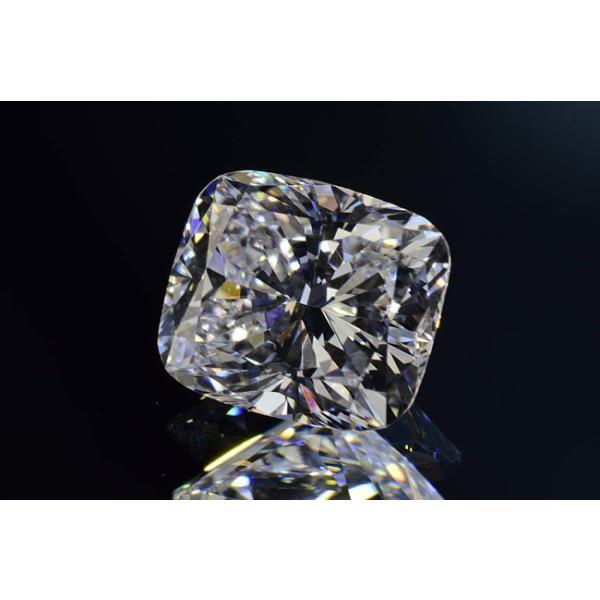 0.5カラット クッションカット ダイヤ Dカラー VS1 神秘的な輝きの蛍光性ストロングブルーちゃん diadia 02