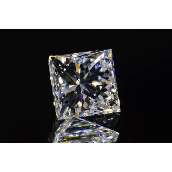 0,5カラットプリンセスカットダイヤモンドルースFカラーVS2 中央宝石研究所ソーティングつき|diadia|02