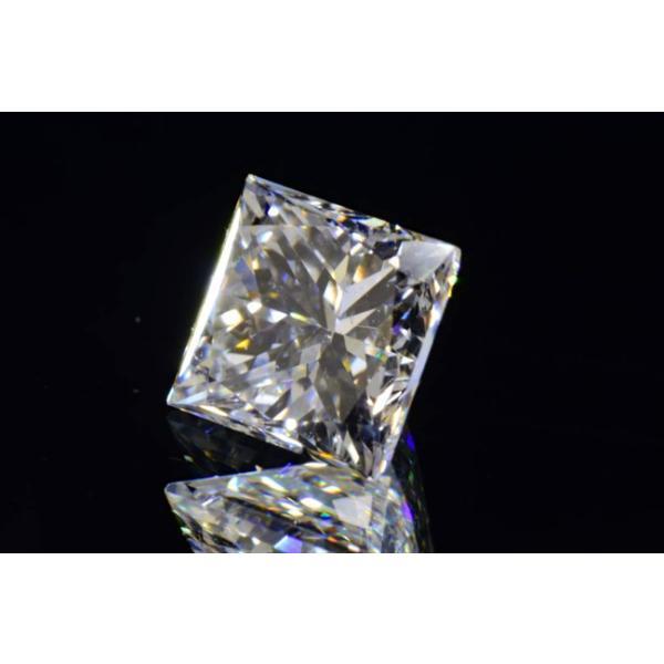 0,5カラットプリンセスカットダイヤモンドルースFカラーVS2 中央宝石研究所ソーティングつき|diadia|03