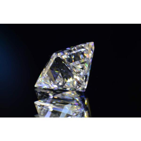 0,5カラットプリンセスカットダイヤモンドルースFカラーVS2 中央宝石研究所ソーティングつき|diadia|04