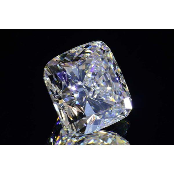 1カラットクッションカットダイヤモンドDカラーIF GIA鑑定書つき 透明感のある優しい輝きさん|diadia|03
