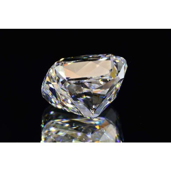1カラットクッションカットダイヤモンドDカラーIF GIA鑑定書つき 透明感のある優しい輝きさん|diadia|04
