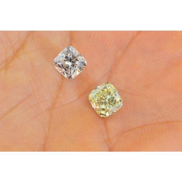 1カラットクッションカットダイヤモンドDカラーIF GIA鑑定書つき 透明感のある優しい輝きさん|diadia|06